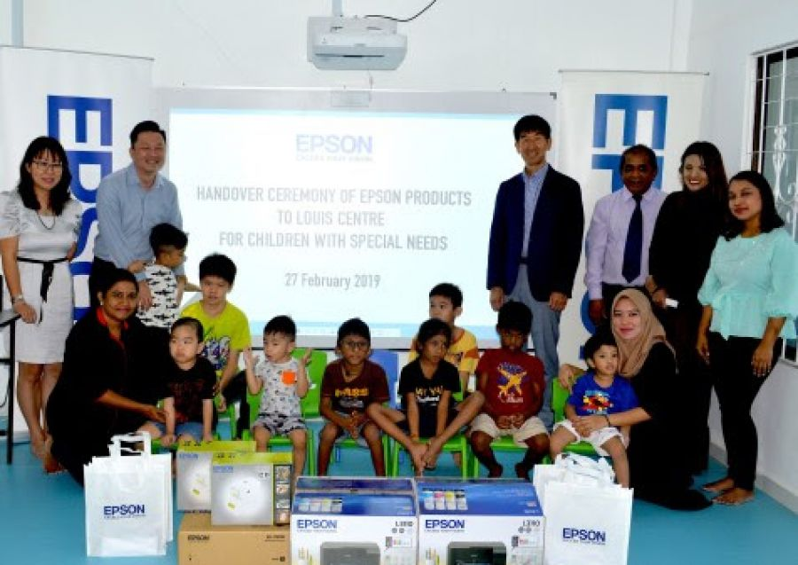 Epson Malaysia and Louis Centre Join Hands to Create Multisensory Classroom