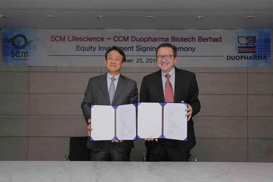 CCM Duopharma makes Equity Investment in SCM Lifescience of orea for Stem Cell Technology and Development