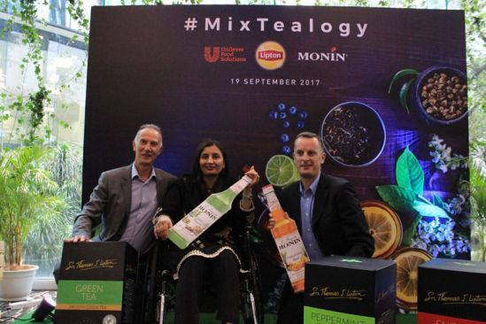 UNILEVER FOOD SOLUTIONS (LIPTON) AND MONIN INTRODUCE #MIXTEALOGY