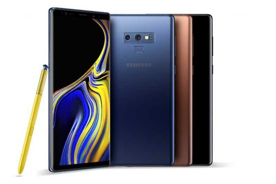 Samsung Unveils the New Galaxy Note9