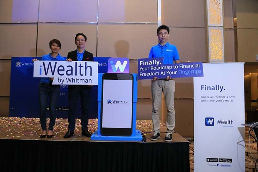 Whitman launches iWealth app