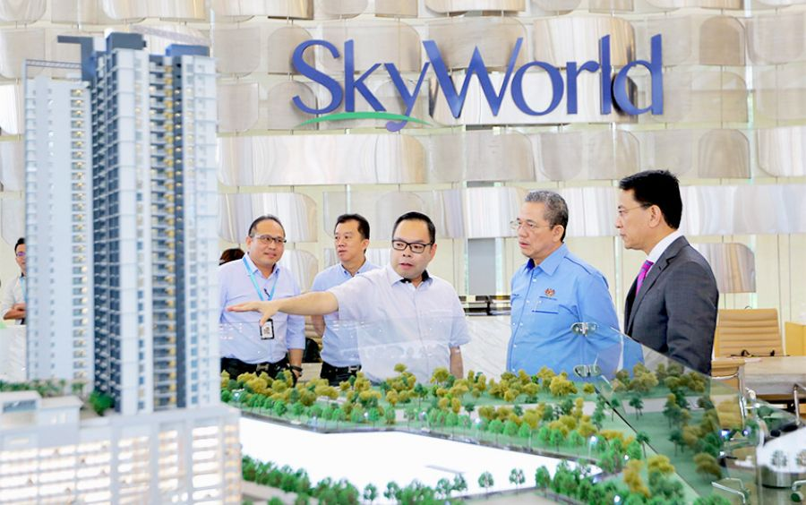 Skyworld Builds Quality Centre