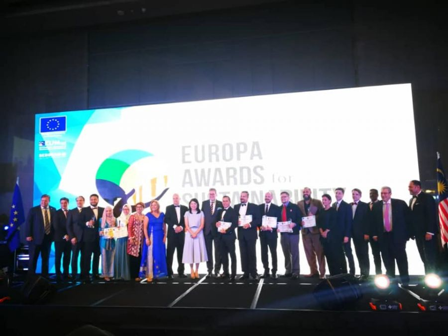 Europa Awards for Sustainability 2018 Recognises Exemplary Excellence