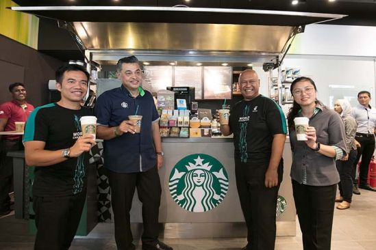 Petronas Station the First to Offer Hand-Crafted, Freshly Brewed Coffee