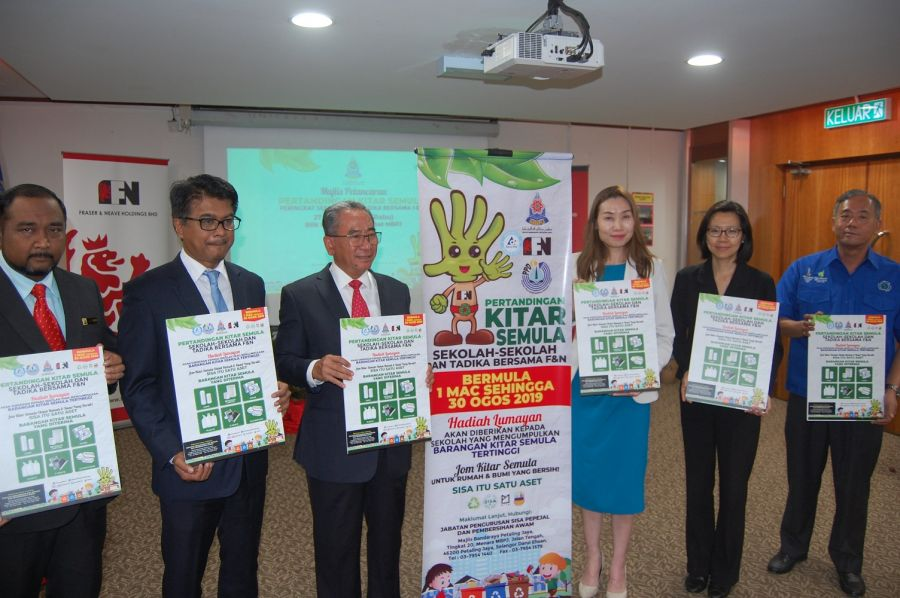 F&NHB teams up with MBPJ for recycling campaign