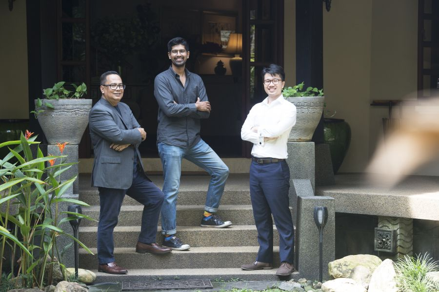 From left: Sabri Abdul Rahman (Executive Director of DAPAT VISTA (M) SDN BHD), Joshua Smith (Chief Technology Officer of DAPAT VISTA (M) SDN BHD) and Nick Liew (Chief Executive Officer of DAPAT VISTA (M) SDN BHD)