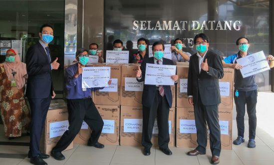 COWAY MALAYSIA COMMITS TO FIGHT COVID-19 WITH M.O.H. HOSPITALS  THROUGHOUT MALAYSIA