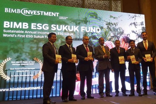BIMB Investment Launched the World's First ESG Sukuk Fund