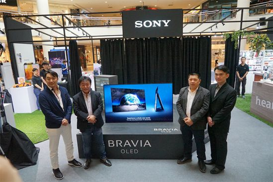 Sony Unveils New TV and Entertainment Systems