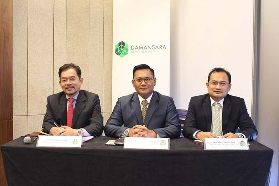 Damansara Realty Returns to Black with RM17.8 Million Net Profit For 2017