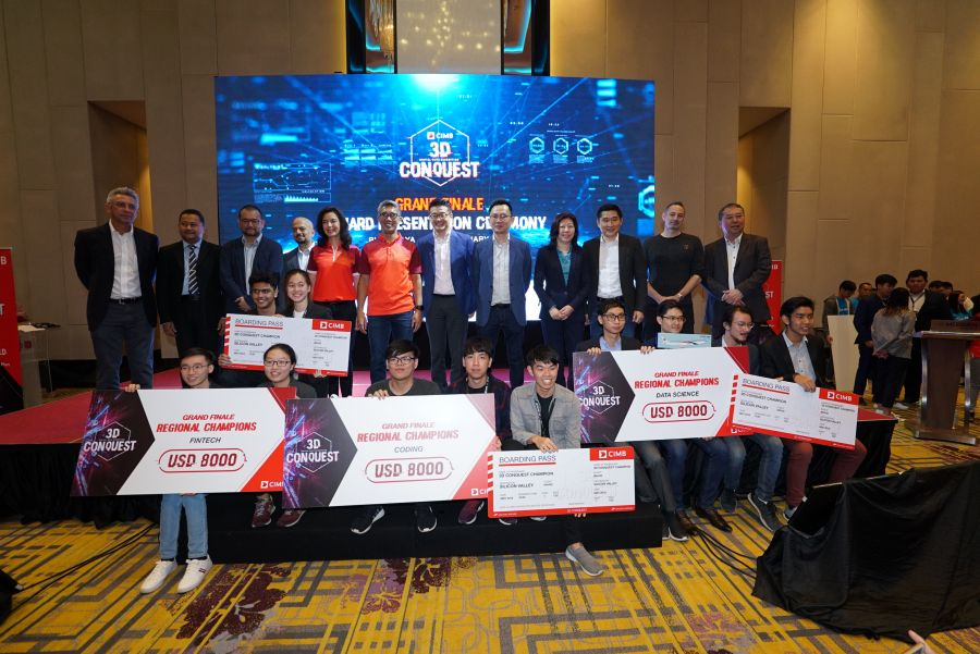 CIMB's 3D Conquest Discovers Budding Data Wizards, Coders and Disruptors